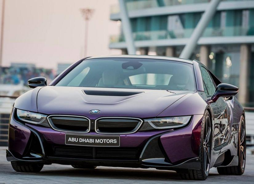 Bmw I8 Twilight Purple Tuning 5 Tuningblog Eu Magazine