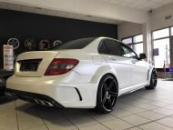 Black Series Widebody Style Mercedes C Klasse W204 Tuning 2 190x143 Black Series Widebody Style Mercedes C Klasse W204 by FL