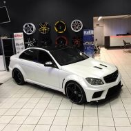 Black Series Widebody Style Mercedes C Klasse W204 Tuning 3 190x190 Black Series Widebody Style Mercedes C Klasse W204 by FL
