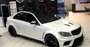 Black Series Widebody Style Mercedes C Klasse W204 Tuning 3 310x165 Widebody Mercedes E Klasse Cabrio A207 by FL Exclusive