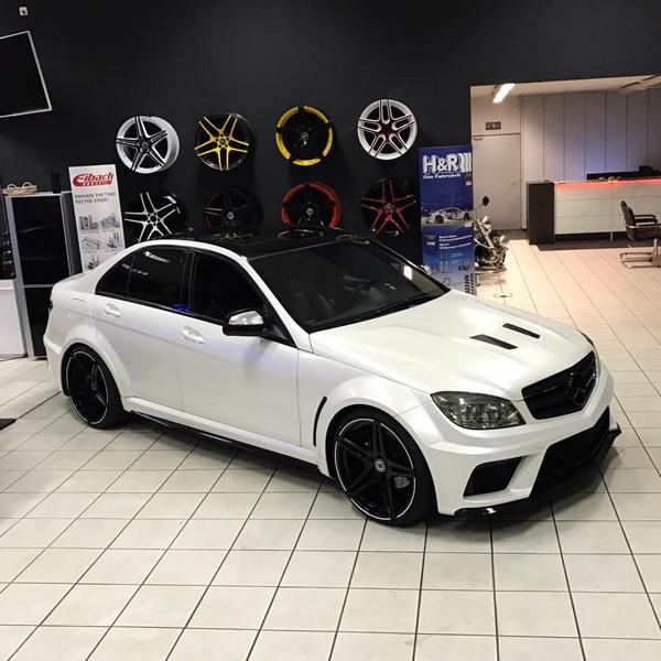 black series widebody style mercedes c klasse w204 by fl. Black Bedroom Furniture Sets. Home Design Ideas