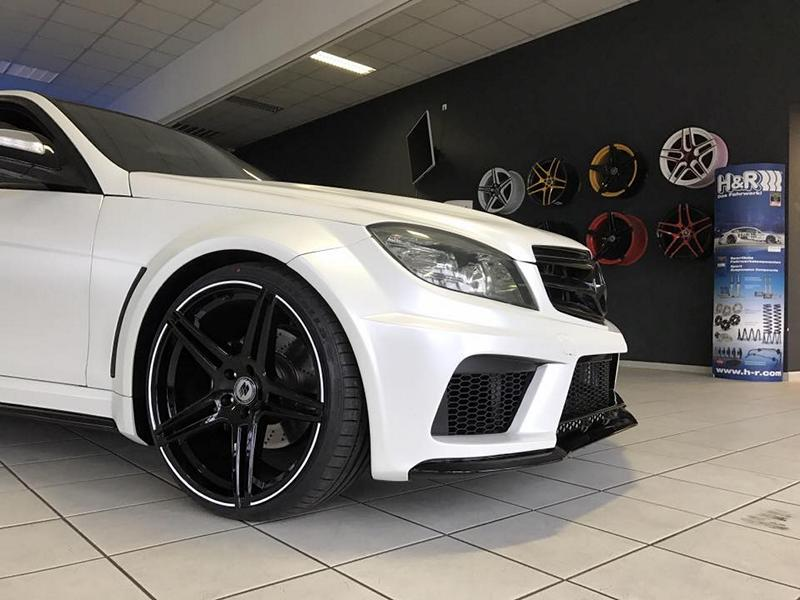 black series widebody style mercedes c klasse w204 tuning. Black Bedroom Furniture Sets. Home Design Ideas