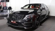 Brabus Mercedes S63 850 biturbo tuning 4 190x107 Fotostory: Brabus 850   Mercedes Benz S63 AMG mit 850PS