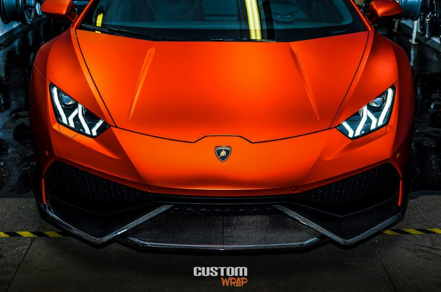 Burnt Orange Chrome Satin Lamborghini Huracan Tuning 4 Zacoe Lamborghini Huracan mit Fi Exhaust & neuen Alu's