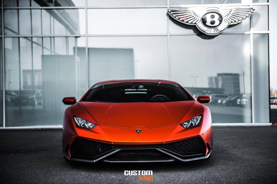 Burnt Orange Chrome Satin Lamborghini Huracan Tuning 6 Zacoe Lamborghini Huracan mit Fi Exhaust & neuen Alu's