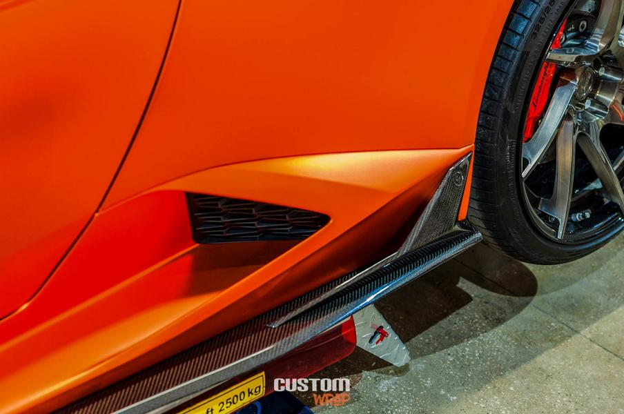 Burnt Orange Chrome Satin Lamborghini Huracan Tuning 9 Zacoe Lamborghini Huracan mit Fi Exhaust & neuen Alu's