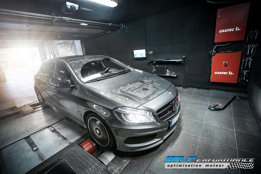 Chiptuning Mercedes Benz A180 CDI BR Performance 4 138PS & 311NM im Mercedes Benz A180 CDI von BR Performance