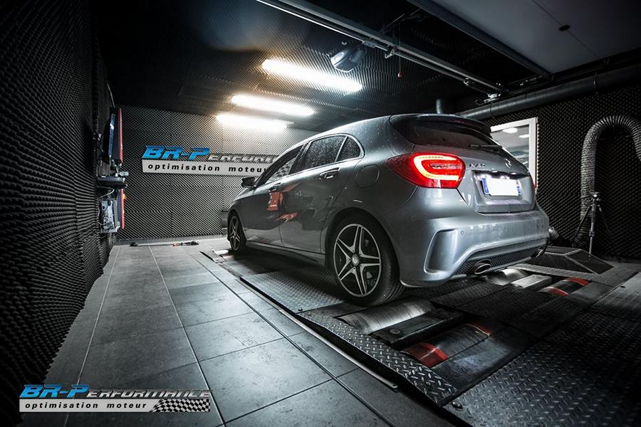 Chiptuning Mercedes Benz A180 CDI BR Performance 5 138PS & 311NM im Mercedes Benz A180 CDI von BR Performance
