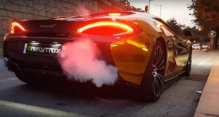 Chrom Gold Folierung Armytrix Auspuff Tuning McLaren 570S 1 310x165 Video: Chrom Gold Folierung & Armytrix Auspuff am McLaren 570S