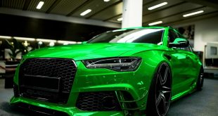 Chrome green Audi RS6 C7 Avant tuning 2016 310x165 tuning or buying ready-made? mobile.de makes it possible ...