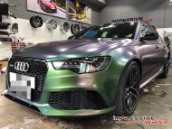 Colorflow Audi RS6 folierung wrap tuning 1 190x143 Farbwechsel ist IN   Impressive Wrap Audi RS6 C7 Avant