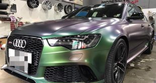 Colorflow Audi RS6 folierung wrap tuning 1 310x165 Fett   Darwinpro Widebody Kit am Mercedes C63s AMG