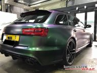 Colorflow Audi RS6 folierung wrap tuning 2 190x143 Farbwechsel ist IN   Impressive Wrap Audi RS6 C7 Avant