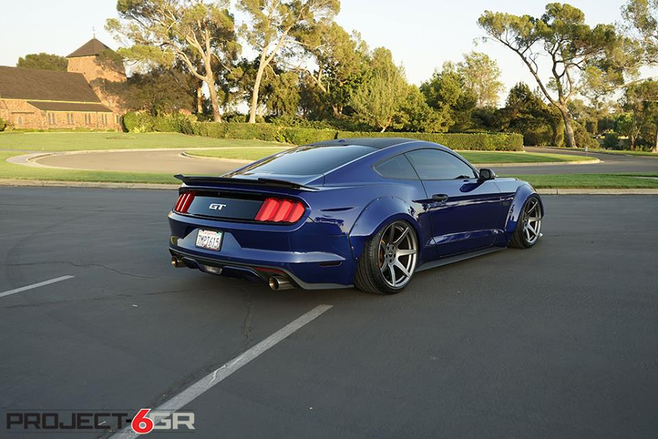 fiberglassmafia widebody kit 6gr alu s am ford mustang gt. Black Bedroom Furniture Sets. Home Design Ideas