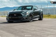 Ford Mustang 20 Zoll V FF 101 Tuning 6 190x127 Klassisches Design   Ford Mustang auf 20 Zoll V FF 101 Alu's