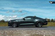 Ford Mustang 20 Zoll V FF 101 Tuning 7 190x127 Klassisches Design   Ford Mustang auf 20 Zoll V FF 101 Alu's