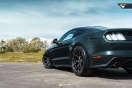 Ford Mustang 20 Zoll V FF 101 Tuning 8 190x127 Klassisches Design   Ford Mustang auf 20 Zoll V FF 101 Alu's