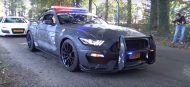 Ford Mustang Shelby GT350 Polizeifahrzeug Tuning 1 190x87 Video: Ford Mustang Shelby GT350 als Polizeifahrzeug