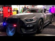 Ford Mustang Shelby GT350 Polizeifahrzeug Tuning 3 190x143 Video: Ford Mustang Shelby GT350 als Polizeifahrzeug