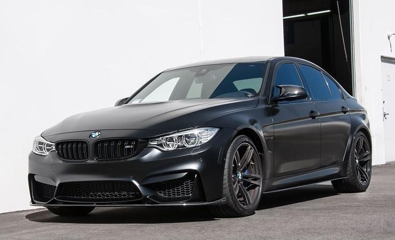 Matt Black Bmw M3 F80 With Carbon Parts By Eas Tuning