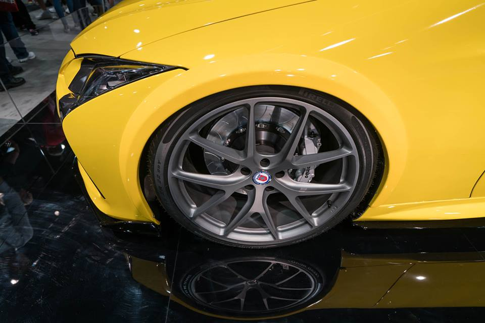 Bright Yellow And Highly Visible Gordon Ting Lexus Lc500
