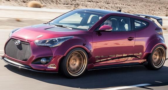 Officially Gurnade Hyundai Veloster Concept For Sema 2016