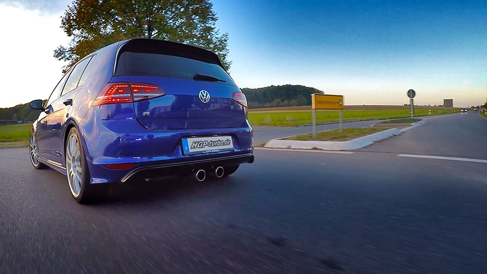 HGP Golf 7 R3.6 L Bi Turbo Tuning 1 Video: Einfach brutal   HGP Golf 7 R3.6 L Bi Turbo Erstkontakt