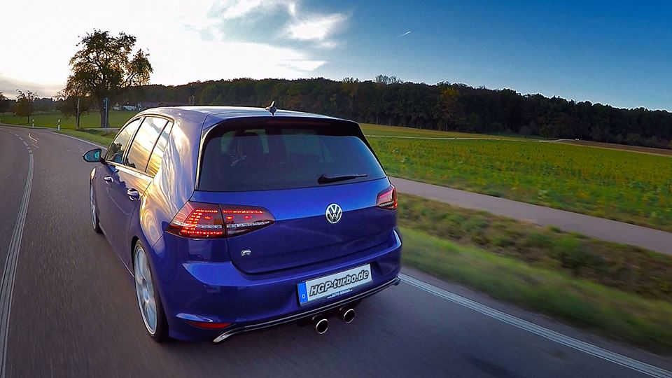 HGP Golf 7 R3.6 L Bi Turbo Tuning 2 Video: Einfach brutal   HGP Golf 7 R3.6 L Bi Turbo Erstkontakt