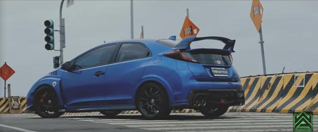 Honda Civic Type R FK2 400PS Armytrix Video: Honda Civic Type R FK2 mit 400PS dank Armytrix