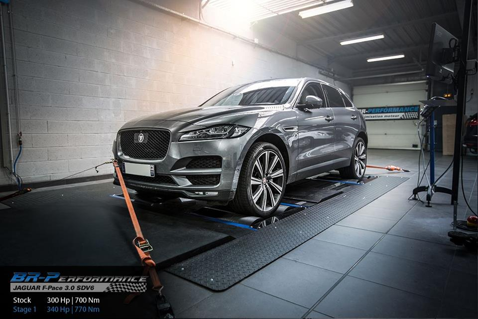 Jaguar F Pace 3.0 SDV6 Chiptuning 1 340PS & 770NM im Jaguar F Pace 3.0 SDV6 mit Chiptuning