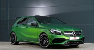 Mercedes Benz A45 AMG Speed Buster Chiptuning 1 310x165 Mercedes Benz A45 AMG mit 431PS & 584NM by Speed Buster