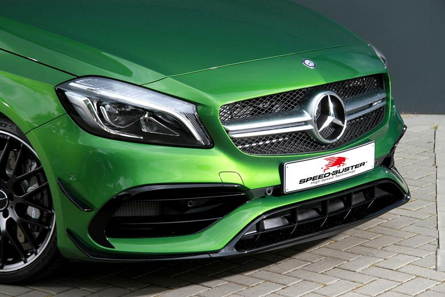 Mercedes Benz A45 AMG Speed Buster Chiptuning 2 Mercedes Benz A45 AMG mit 431PS & 584NM by Speed Buster