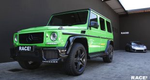 Mercedes Benz G63 AMG Aileengreen Brabus Tuning 1 310x165 Dezent   Porsche Panamera in Mattrot by Race! South Africa