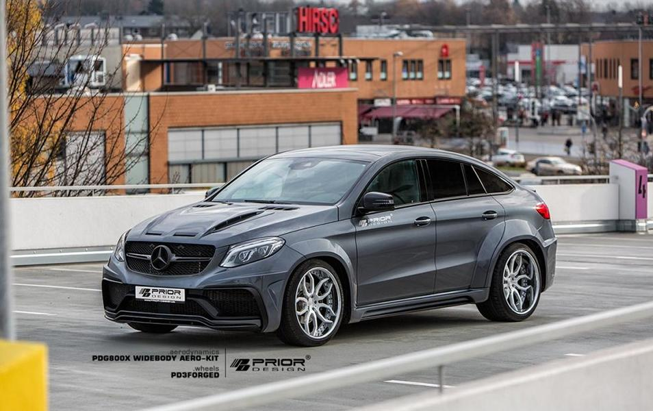 Mercedes Benz GLE Coupe PDG800X Widebody Kit Tuning 4 Mercedes Benz GLE Coupe mit PDG800X Widebody Kit