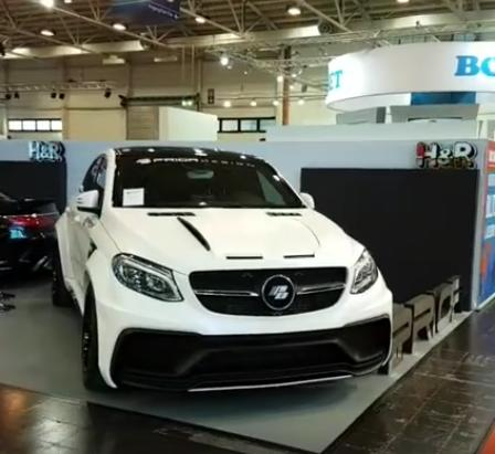 Mercedes Benz GLE Coupe PDG800X Widebody Kit Tuning C292 6 Mercedes Benz GLE Coupe mit PDG800X Widebody Kit