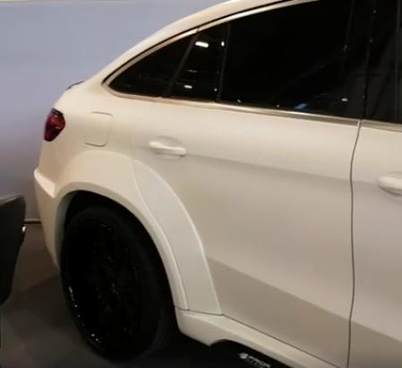 Mercedes Benz GLE Coupe PDG800X Widebody Kit Tuning C292 8 Mercedes Benz GLE Coupe mit PDG800X Widebody Kit
