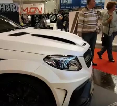 Mercedes Benz GLE Coupe PDG800X Widebody Kit Tuning C292 9 Mercedes Benz GLE Coupe mit PDG800X Widebody Kit