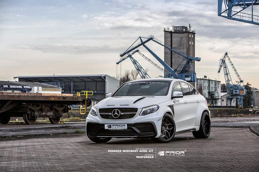 Mercedes Benz GLE Coupe mit PDG800X Widebody Kit 2 Mercedes Benz GLE Coupe mit PDG800X Widebody Kit