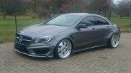 Mercedes CLA Widebody 20 zoll Tuning 1 190x107 Mercedes CLA Widebody auf 20 Zöllern by PP Exclusive