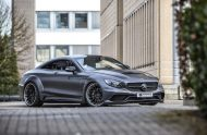 Mercedes S Klasse Coupe PD75SC Widebody Kit PD4 Prior Felgen Tuning 16 190x124 Super Edel   Mercedes S Klasse Coupe mit PD75SC Widebody Kit