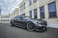 Mercedes S Klasse Coupe PD75SC Widebody Kit PD4 Prior Felgen Tuning 21 190x125 Super Edel   Mercedes S Klasse Coupe mit PD75SC Widebody Kit
