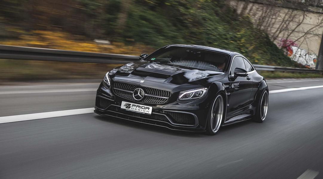 Mercedes S Klasse Coupe PD990SC Widebody Tuning PD4 5 1 Super Edel   Mercedes S Klasse Coupe mit PD75SC Widebody Kit