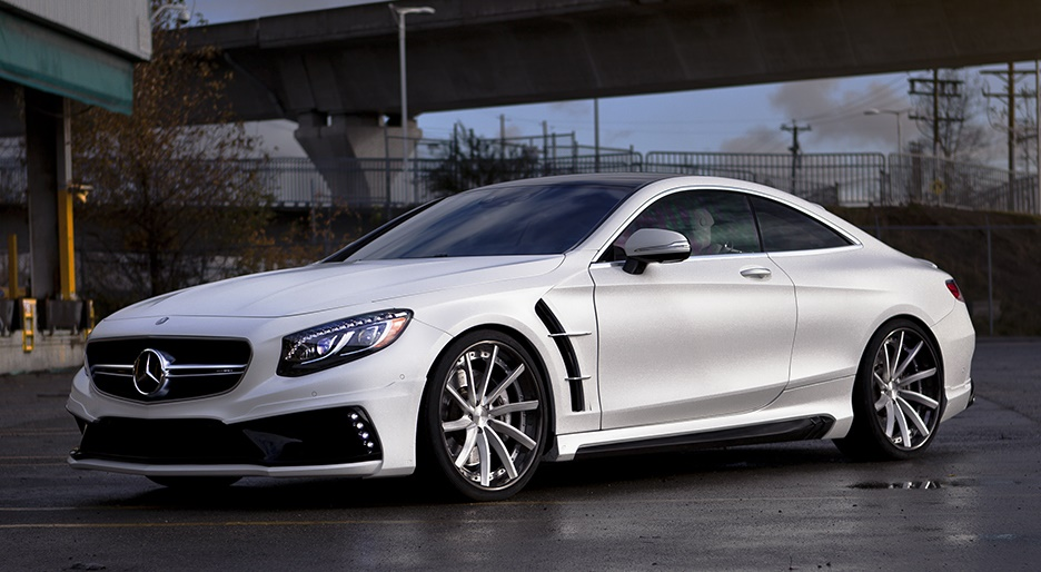 Mercedes S63 Amg Coupe Mit Wald Bodykit By Sr Auto Group