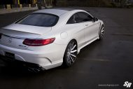 Mercedes S63 AMG Coupe Wald Black Bison Bodykit Tuning 10 190x127 Mercedes S63 AMG Coupe mit Wald Bodykit by SR Auto Group