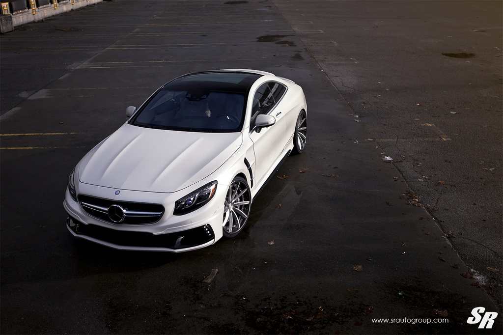 Mercedes S63 AMG Coupe Wald Black Bison Bodykit Tuning 5 Mercedes S63 AMG Coupe mit Wald Bodykit by SR Auto Group