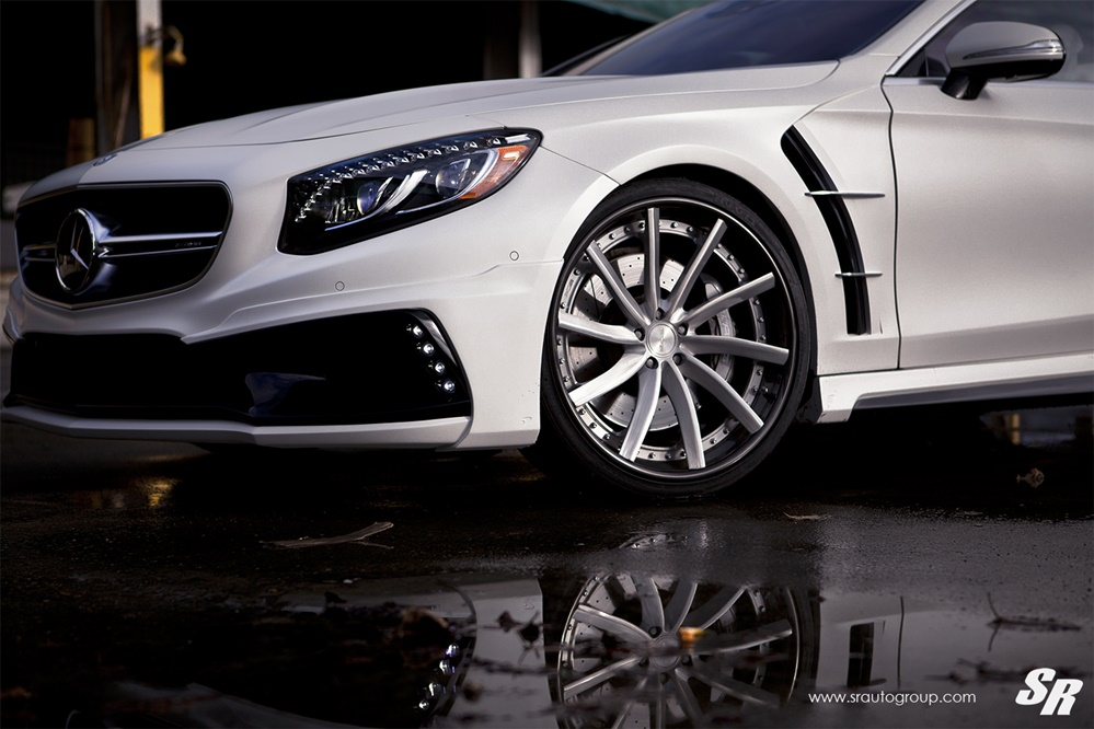 Mercedes S63 AMG Coupe Wald Black Bison Bodykit Tuning 6 Mercedes S63 AMG Coupe mit Wald Bodykit by SR Auto Group