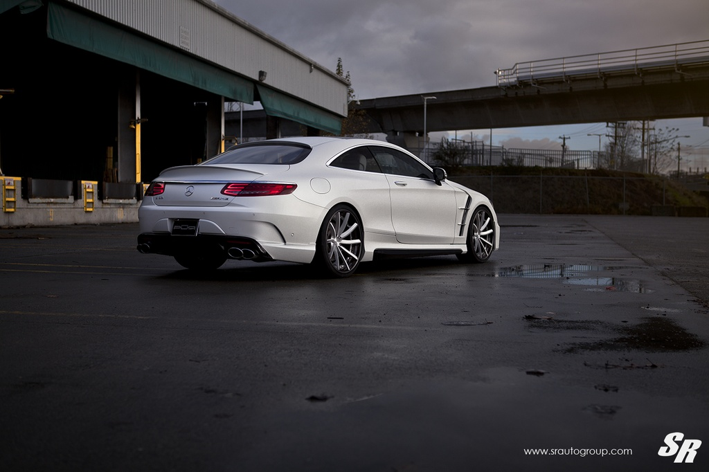 Mercedes S63 AMG Coupe Wald Black Bison Bodykit Tuning 8 Mercedes S63 AMG Coupe mit Wald Bodykit by SR Auto Group