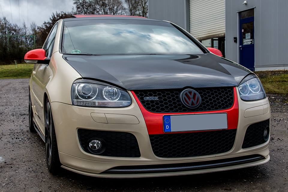 Oracal Pyrit Vollfolierung VW Golf MK5 GTi Tuning 5 CCG Tuning & Folierung   VW Golf MK5 GTI in Oracal Pyrit