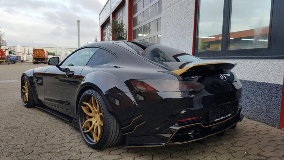 PD800GT Prior Design Folienwerk NRW Widebody Mercedes AMG GTs Tuning 4 Fetter geht nicht   Folienwerk NRW Widebody Mercedes AMG GTs