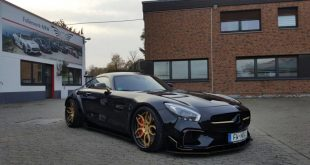 PD800GT Prior Design Folienwerk NRW Widebody Mercedes AMG GTs Tuning 7 310x165 Mercedes Benz GLE in Satin dark Grey by Folienwerk NRW